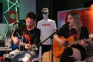 Performance at Muzo live event