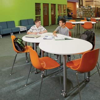 Muzo furniture at Kenosha Public Library