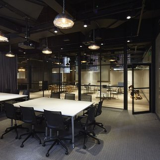 Muzo furniture in office setting