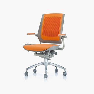 Bodyflex task chair with active back from Muzo