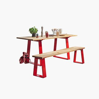 The Edge indoor outdoor table from Muzo