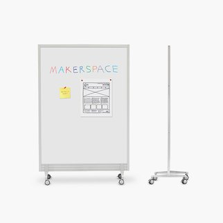 Single panel Flow writable ideas wall from Muzo