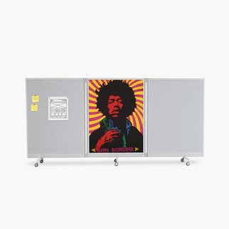 Muzo's Flow portable ideas wall and space divider