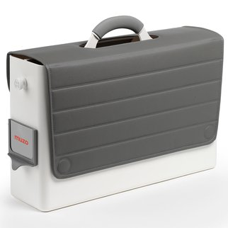 Muzo's HB-Two personal storage box in grey