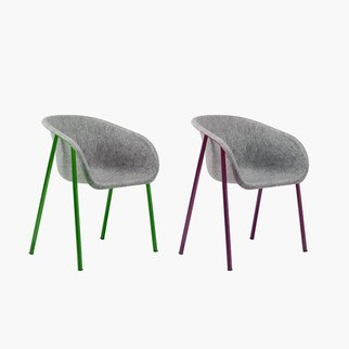 LJ1 PET felt lounge chairs from Muzo