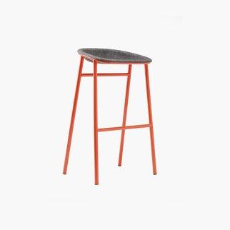 Muzo's LJ3 bar stool is fully customizable and environmentally friendly