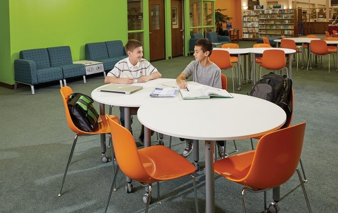 Muzo furniture in learning environment