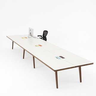 Osprey contemporary table available in various heights and widths