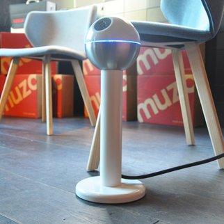 Powerball USB standing charging unit in Muzo showroom