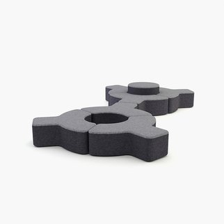 Signs modular seating system from Muzo