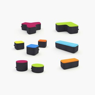 Signs modular seating system layout options