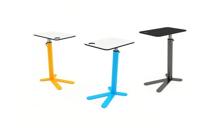Space Chicken side table available in various color options