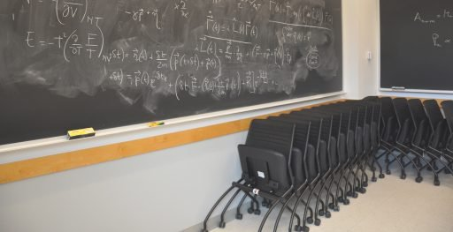 Nested Switch mobile chairs in classroom setting