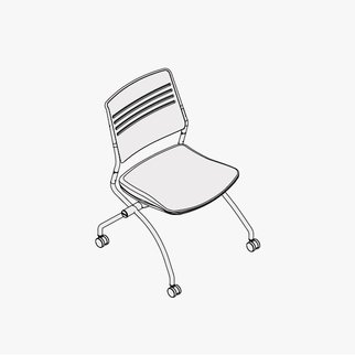 Drawing of Switch mobile chair