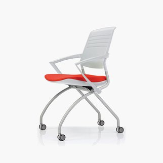 Switch mobile chair with active back technology and optional armrest