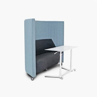 Waltzer sofa from Muzo - also available as a workstation