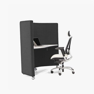 Waltzer workstations offer easy accessibility and complete privacy