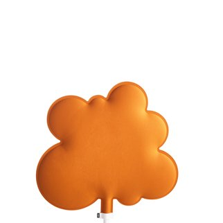 Woodland sound absorbing room divider in orange