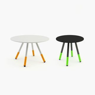 Daywalker coffee and side tables available in different sizes and colors