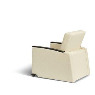 Rear view of Muzo's Remedy nursing chair