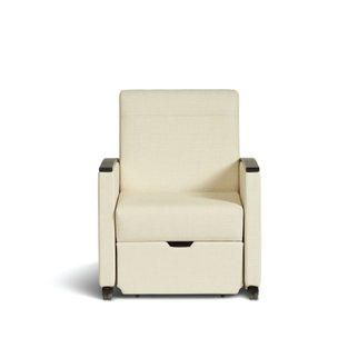 Front view of Muzo's Remedy nursing chair