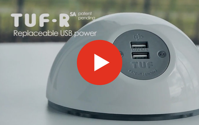 Video of Muzo's TUF-R replacement USB powerball charging unit