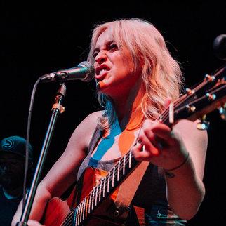 Singer Beth McCarthy performing