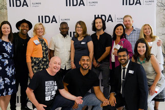 People pictured at the IIDA Illinois Chapter event