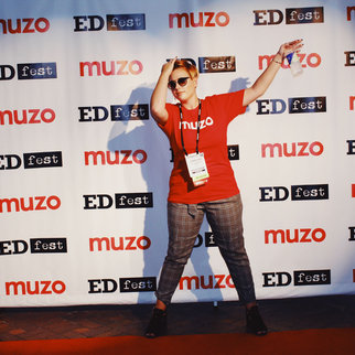 The red carpet at Muzo's EDfest 2019
