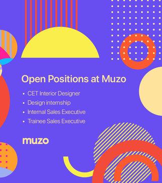 A list of open positions and job vacancies at Muzo