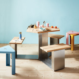 Muzo's Alfresco Mini table set