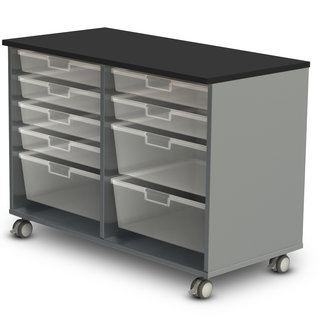 High double drawer Stash unit from Muzo
