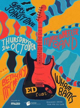 Poster for Muzo EDfest 2019