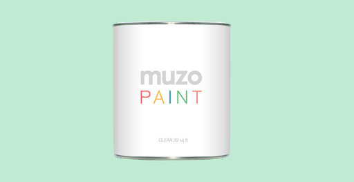 Muzo Paint in white, clear or magnetic