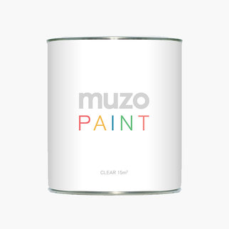 Muzo Paint in clear