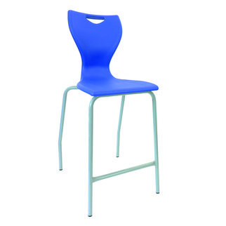 The MBob stool available in various colors including royal blue