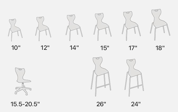 MBob seat height illustration