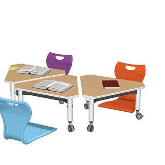 Super Low Versatilis with floor chairs