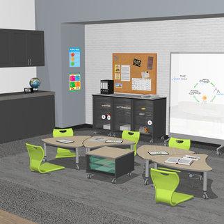 The Super Low Versatilis in a classroom