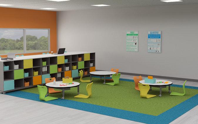 Super Low Versatilis in a classroom setting