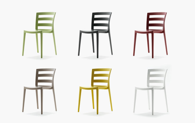 Muzo Town chairs in a range of different colors