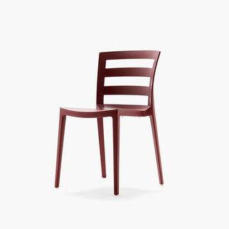 Muzo Town chair in red