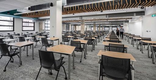 A Muzo furnished higher education setting