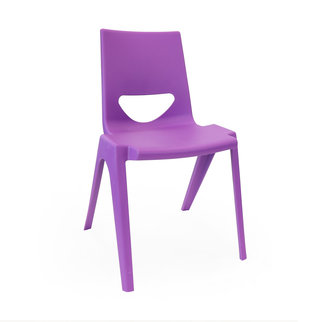 A purple K-seat chair