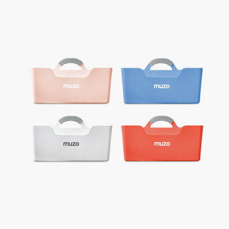 The Muzo Stashbox shown in a range of different colors